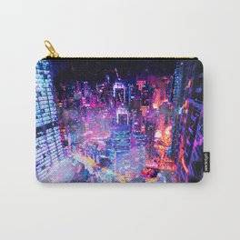 Cyberpunk City Carry-All Pouch
