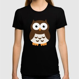 Vintage Vector Smart Owl T-shirt