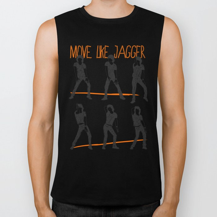 Move Like Jagger (MOVE LIKE COLLECTION) Biker Tank