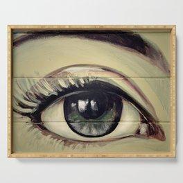 Eye Love You Serving Tray