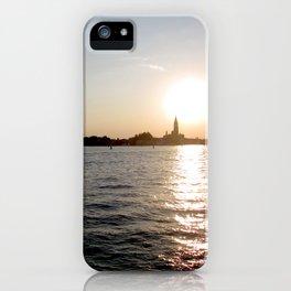 sunset - venice iPhone Case