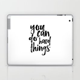 Printable Art you can do hard things gallery wall Inspirational Quote Wall Art Gift Idea Nursery Laptop & iPad Skin