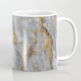 Classic Grey Quartz Crystal Coffee Mug