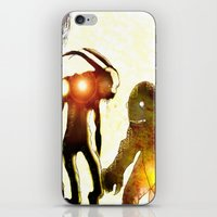 monsters iPhone & iPod Skins featuring Monsters by Ganech joe