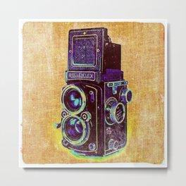 Vintage Camera I Metal Print