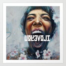 UOYEVOLI #1 Art Print
