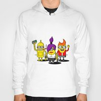 minions Hoodies featuring Despicable Minions and Futurama Mashup by TapedApe
