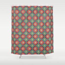 Medieval Diamonds Shower Curtain