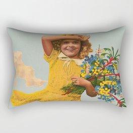 Western Australia vintage travel ad Rectangular Pillow