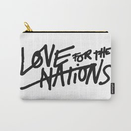 LOVE FOR THE NATIONS Carry-All Pouch
