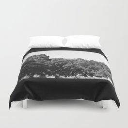 From the earth to the sky Duvet Cover