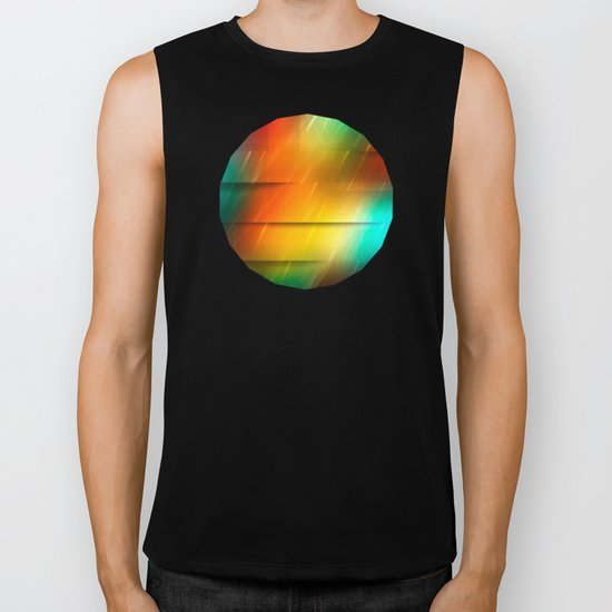 Diagonal Rainbow, 2 Biker Tank
