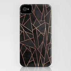 Shattered Black / 2 Slim Case iPhone (4, 4s)
