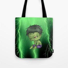 Chibi Hulk Tote Bag