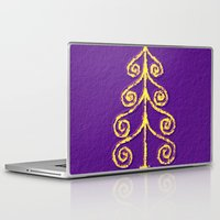 christmas tree Laptop & iPad Skins featuring Christmas Tree* by Mr and Mrs Quirynen