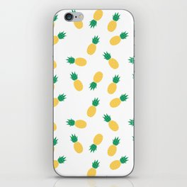 PINEAPPLE ANANAS FRUIT FOOD PATTERN iPhone Skin
