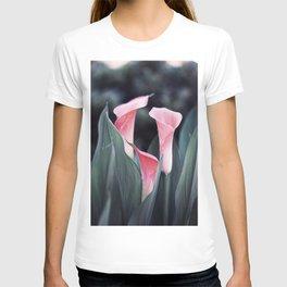 Pink Calla Flowers T-shirt