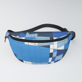 the blue dog Fanny Pack