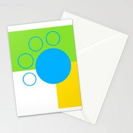 Paw Print Stationery Cards
