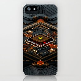X-CHIP SERIES 01 iPhone Case