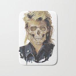 Rock Skull 80s Bath Mat