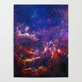 New View of Milky Way Poster