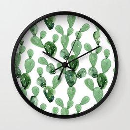 Cactus Life Wall Clock