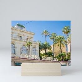 Casino Sanremo Mini Art Print