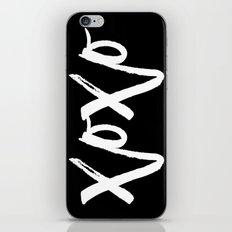 xoxo iPhone Skin