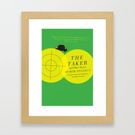 The Taker and Other Stories Framed Art Print