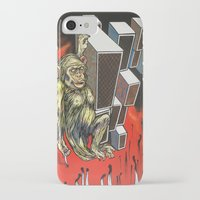ape iPhone & iPod Cases featuring Ape by VikaValter