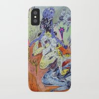best friends iPhone & iPod Cases featuring best friends by Kira Leigh