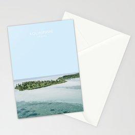Kolhufushi, Maldives Travel Artwork Stationery Cards