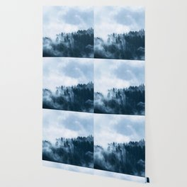Blue Foggy Rocky Mountains Colorado USA Adventure Wallpaper