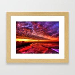 Dawn In Southern California Framed Art Print