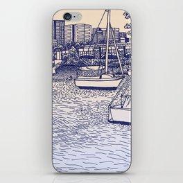 Charles River Esplanade iPhone Skin