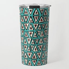 shakal turquoise Travel Mug