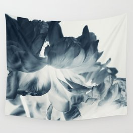 Blue Paeonia #2 Wall Tapestry