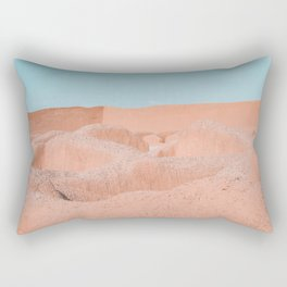 minimal adobe heaven Rectangular Pillow
