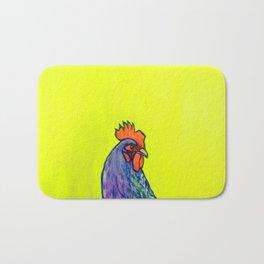 Neon Chicken Bath Mat