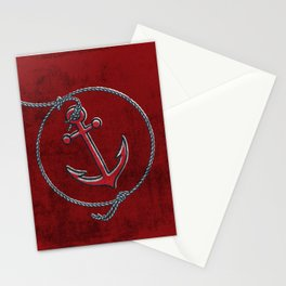 Anchor Aweigh ! Stationery Cards