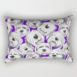 Shaggy pups Rectangular Pillow