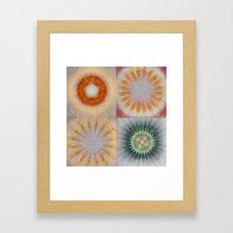 Untheologize Consonance Flowers  ID:16165-115853-31050 Framed Art Print