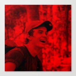 Hayes Grier - Celebrity (Florescent Color Technique) Canvas Print