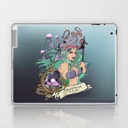 Huntress of the Sea Laptop & iPad Skin