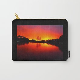 Fall Scratchings on a Carslruhe Sunset Carry-All Pouch