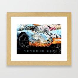 Gulf 917 Framed Art Print