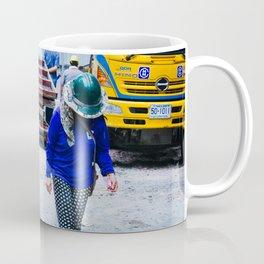 Construction Worker in Bangkok Coffee Mug