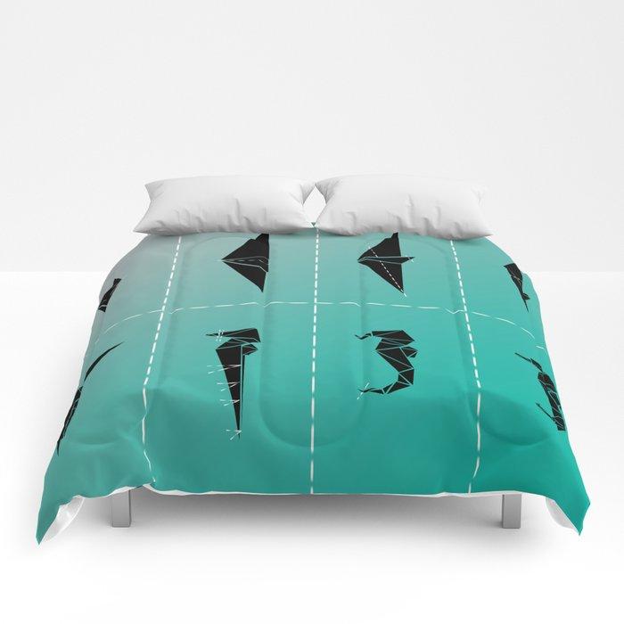 SEA HORSE Comforters