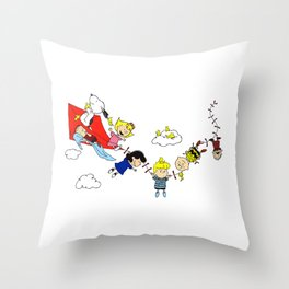 Peanuts Gang Throw Pillow